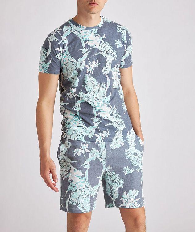Tropical Cotton-Blend T-Shirt picture 2