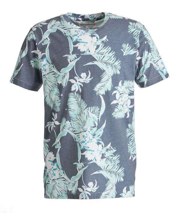 Tropical Cotton-Blend T-Shirt image 0