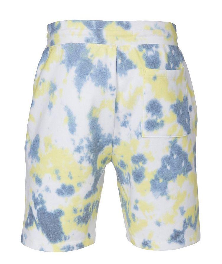 Tie-dye Cotton Blend Shorts image 1