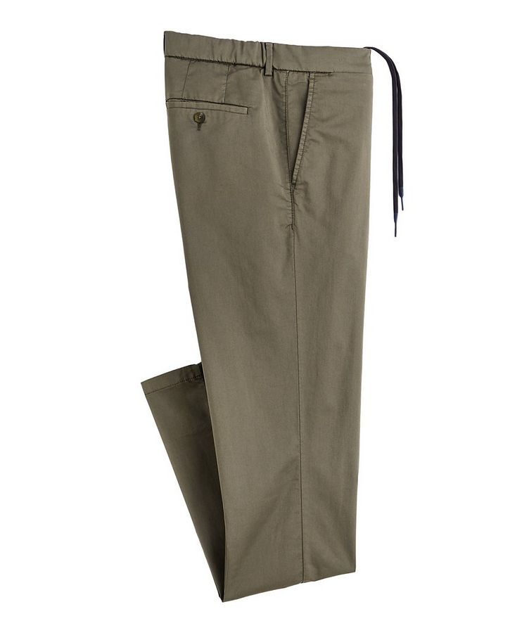Bowery No Limits Tech-Cotton Drawstring Chinos image 0