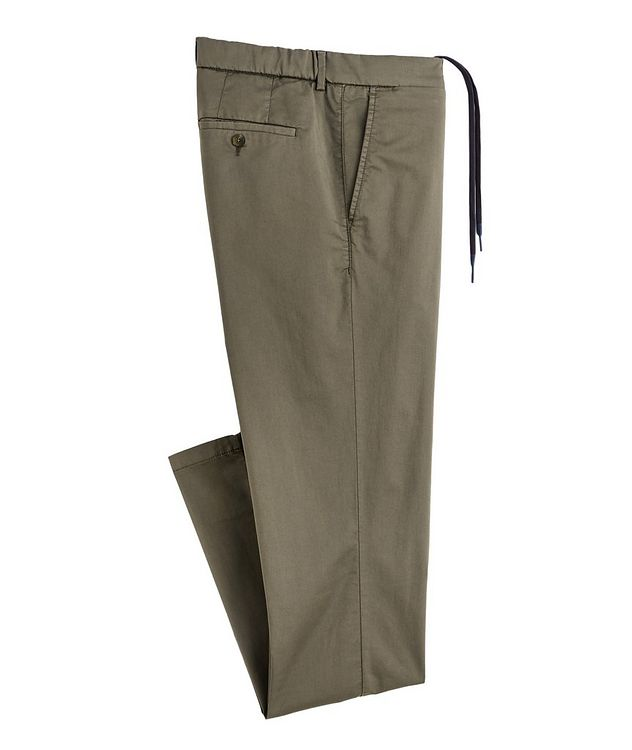 Bowery No Limits Tech-Cotton Drawstring Chinos picture 1