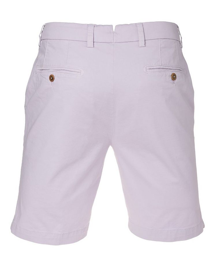 College Slim Fit Techno-Cotton Shorts image 1