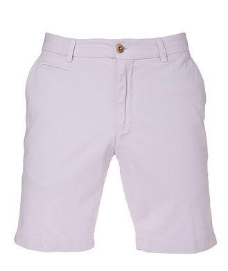 Ballin College Slim Fit Techno-Cotton Shorts