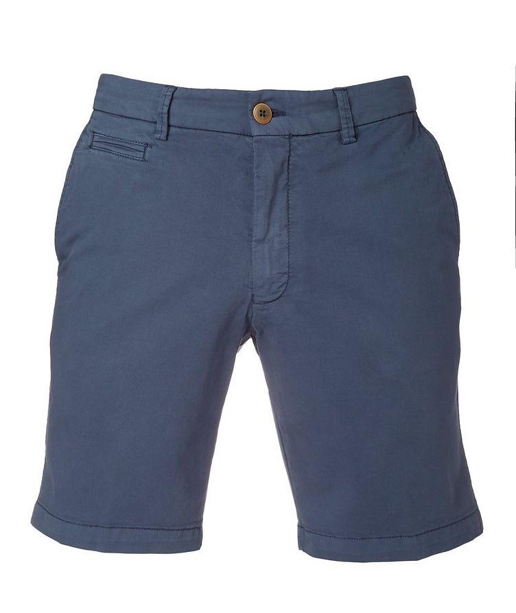 College Slim Fit Techno-Cotton Shorts image 0