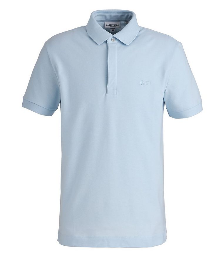 Paris Stretch-Cotton Piqué Polo image 0