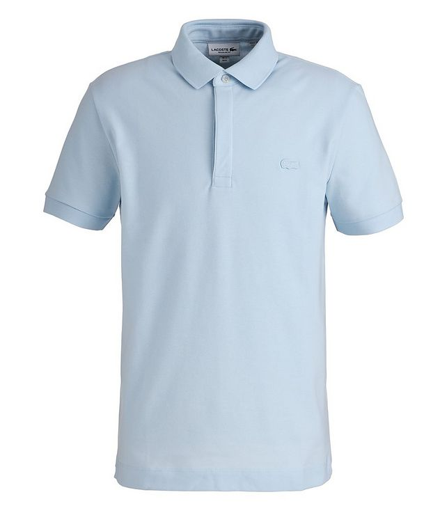 Paris Stretch-Cotton Piqué Polo picture 1