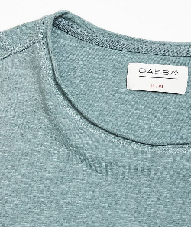 Konrad Slub Cotton T-Shirt picture 2