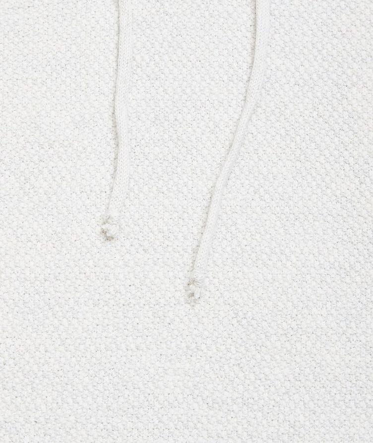 Lamp Cotton-Blend Knit Hoodie image 2