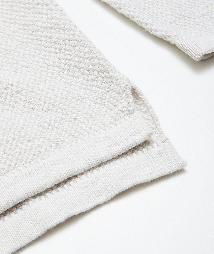 Lamp Cotton-Blend Knit Hoodie image 3