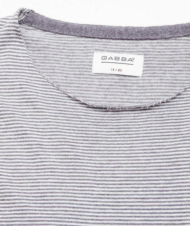 Moon Stripes Linen-Cotton-Blend Sweater picture 2