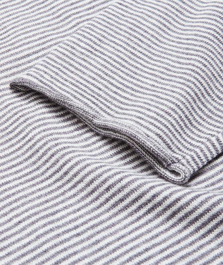 Moon Stripes Linen-Cotton-Blend Sweater image 3