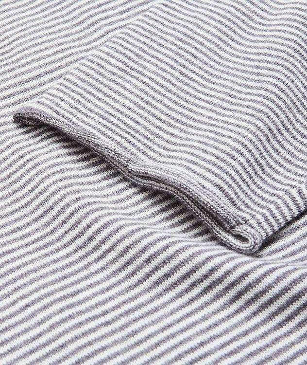Moon Stripes Linen-Cotton-Blend Sweater picture 4