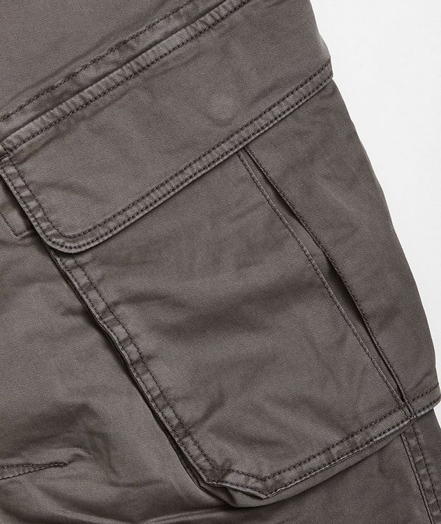 Rufo Stretch-Cotton Cargo Pants picture 4