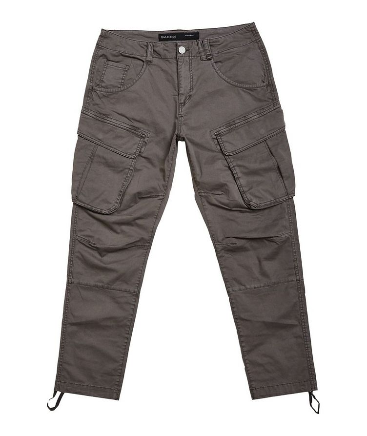 Rufo Stretch-Cotton Cargo Pants image 0