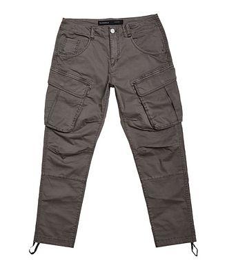 Gabba Pantalon Rufo en coton extensible à poches cargo