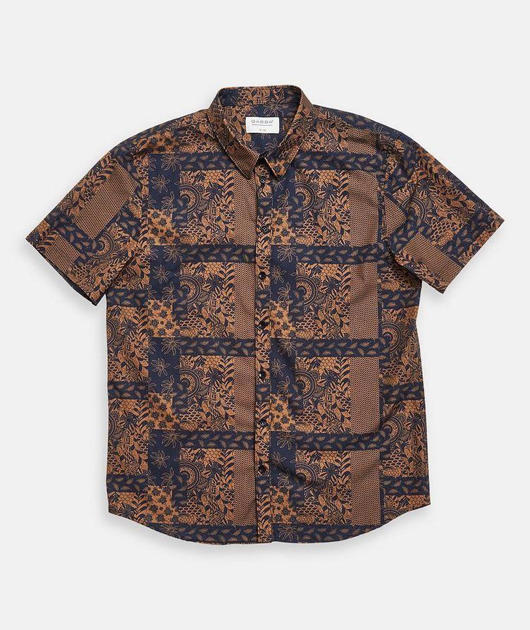Short-Sleeve Seoul Siapo Cotton Shirt image 1