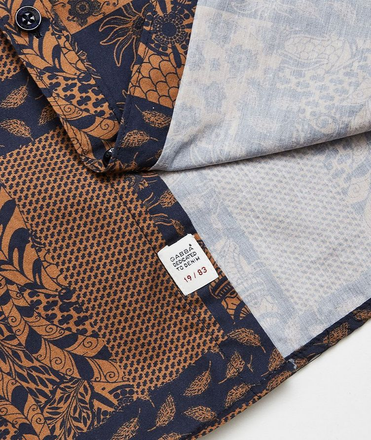 Short-Sleeve Seoul Siapo Cotton Shirt image 3