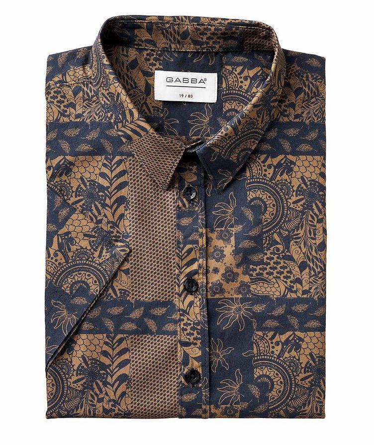 Short-Sleeve Seoul Siapo Cotton Shirt image 0