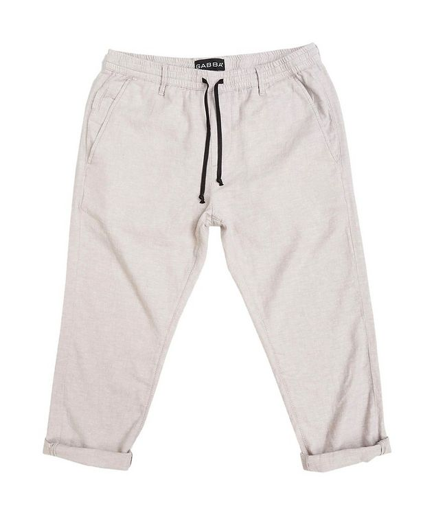 Taylor Stretch Linen and Cotton Pants picture 2