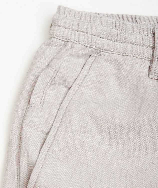 Taylor Stretch Linen and Cotton Pants picture 3
