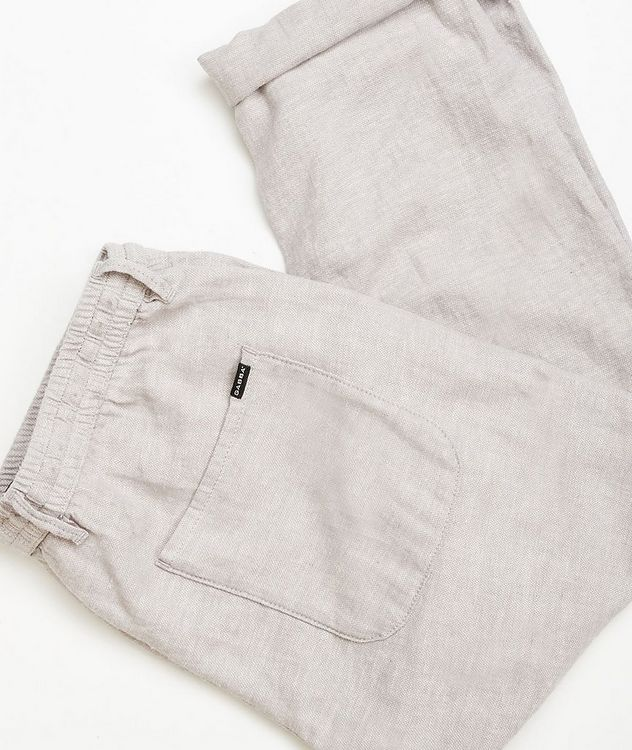 Taylor Stretch Linen and Cotton Pants picture 4