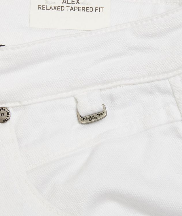 Alex Relaxed Tapered Jeans picture 4
