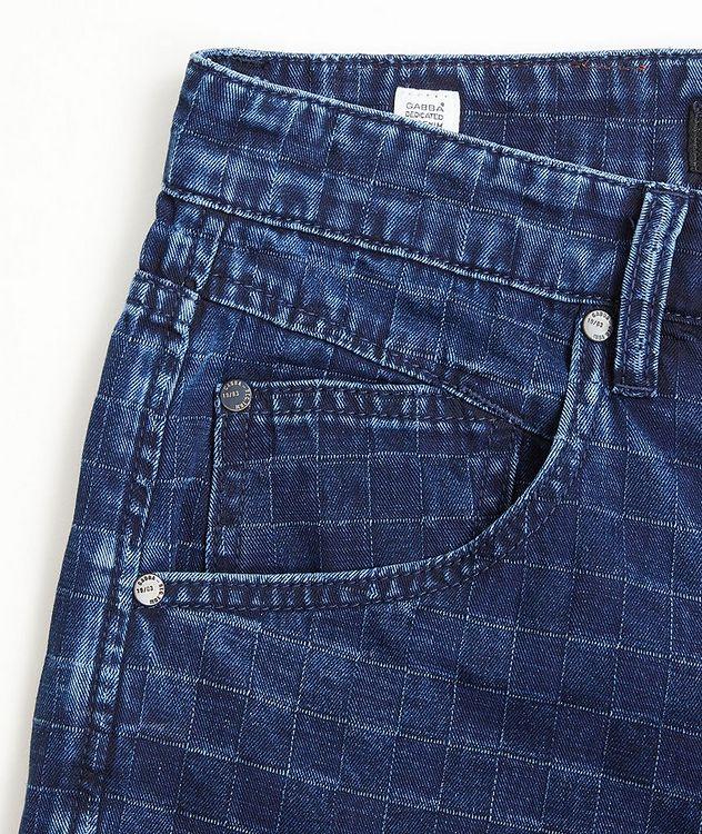 Anker Check Denim Shorts picture 2