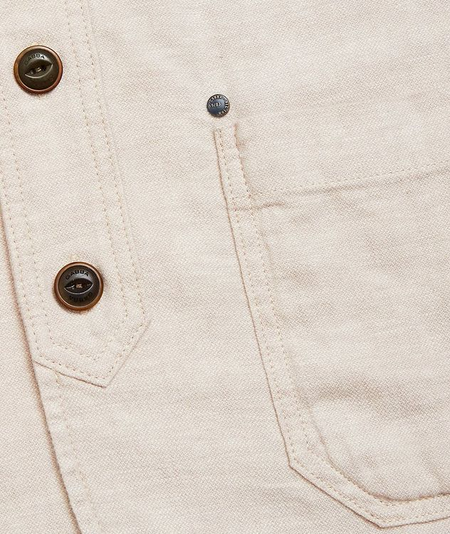 Goa Stretch-Linen and Cotton Sports Jacket picture 3