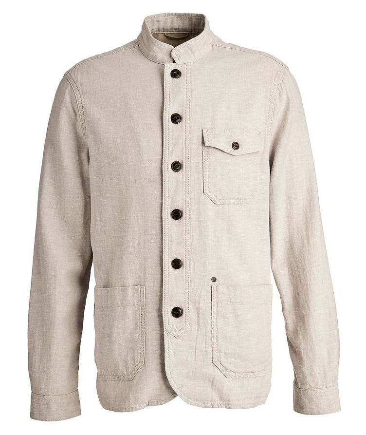 Goa Stretch-Linen and Cotton Sports Jacket image 0