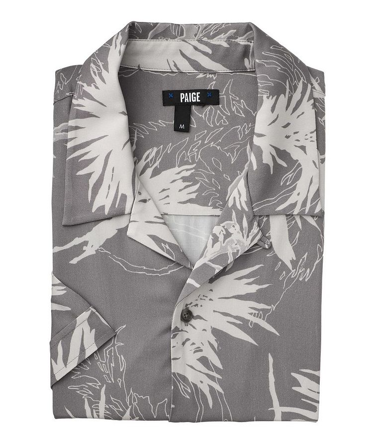 Landon Short-Sleeve Contemporary Fit Printed Shirt image 0