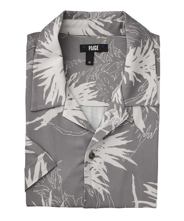 Landon Short-Sleeve Contemporary Fit Printed Shirt picture 1