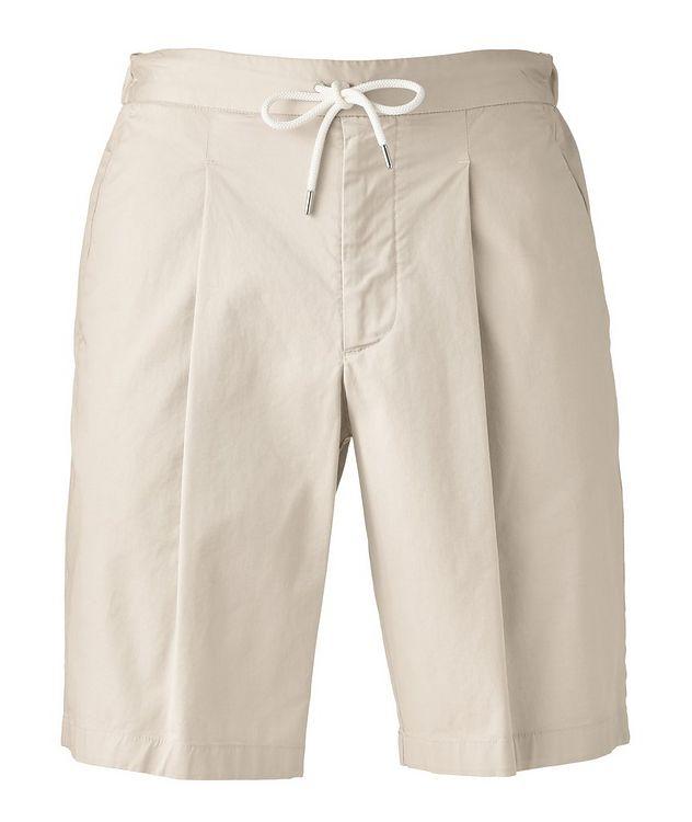 Stretch-Cotton Gabardine Bermuda Shorts picture 1