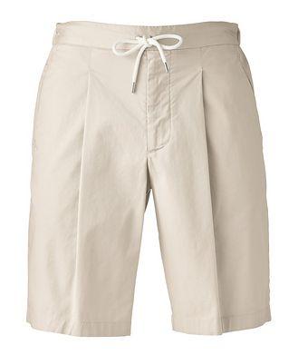 Giorgio Armani Stretch-Cotton Gabardine Bermuda Shorts