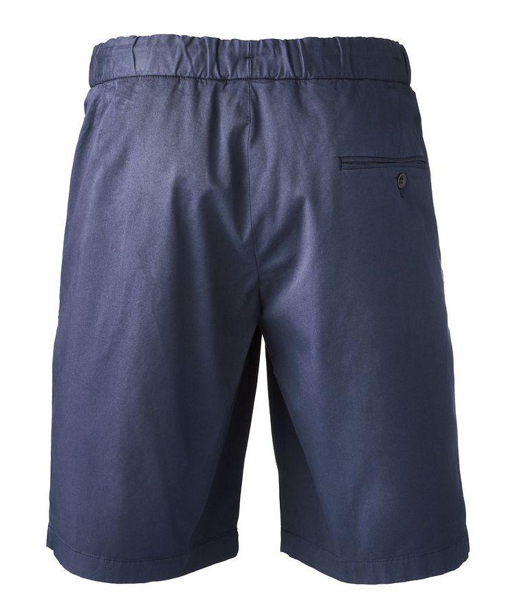 Stretch-Cotton Gabardine Bermuda Shorts image 1
