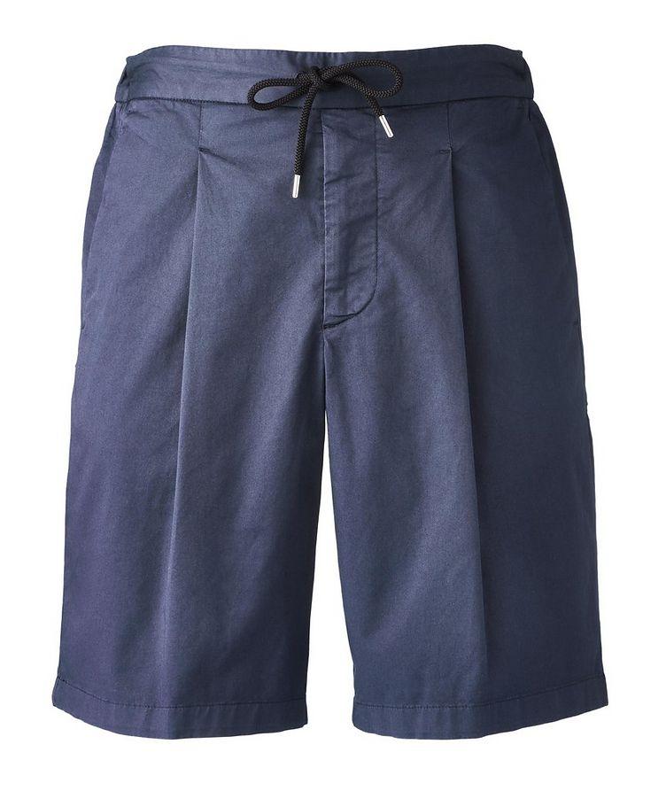 Stretch-Cotton Gabardine Bermuda Shorts image 0