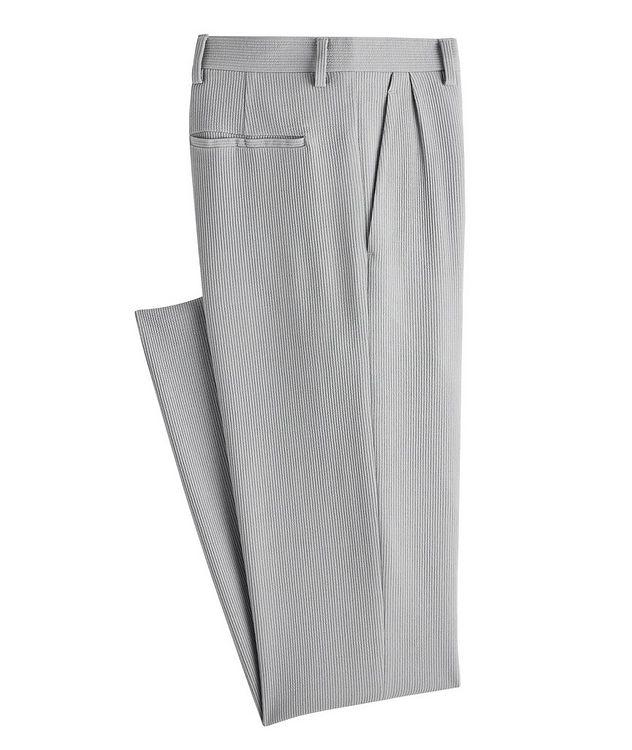 Pantalon en lainage de coupe amincie picture 1