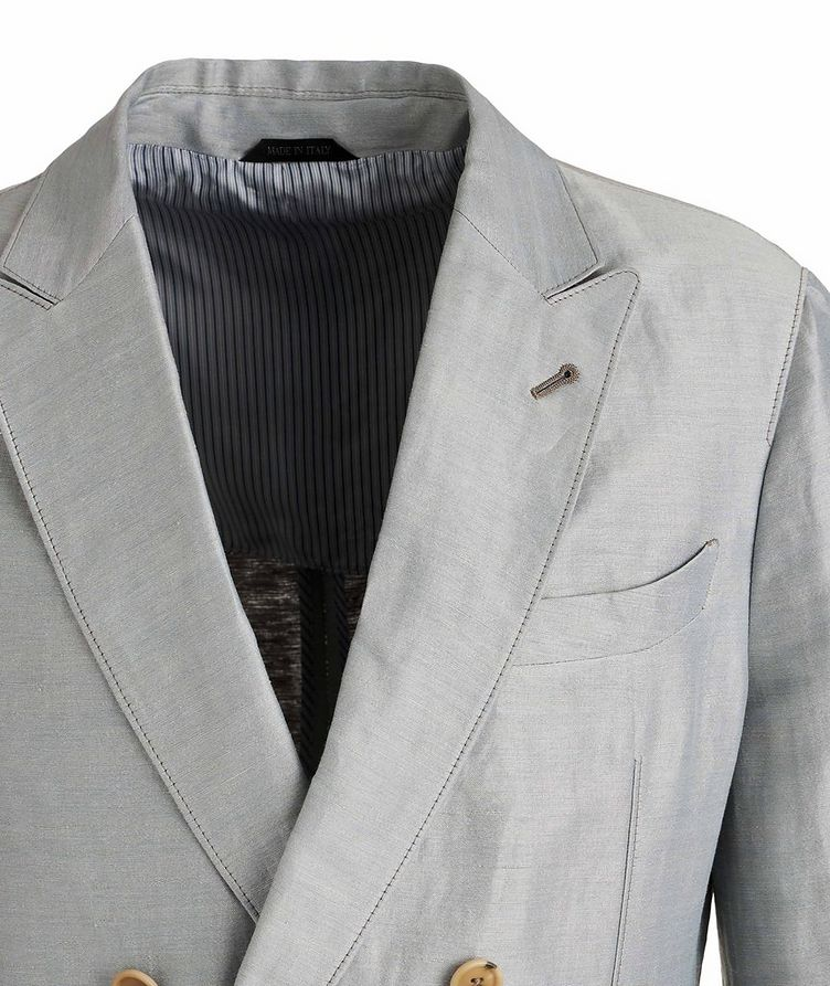 Upton Unstructured Linen-Silk Suit image 2