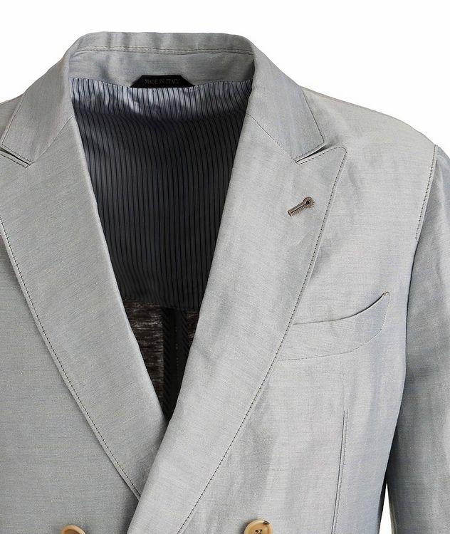 Upton Unstructured Linen-Silk Suit picture 3