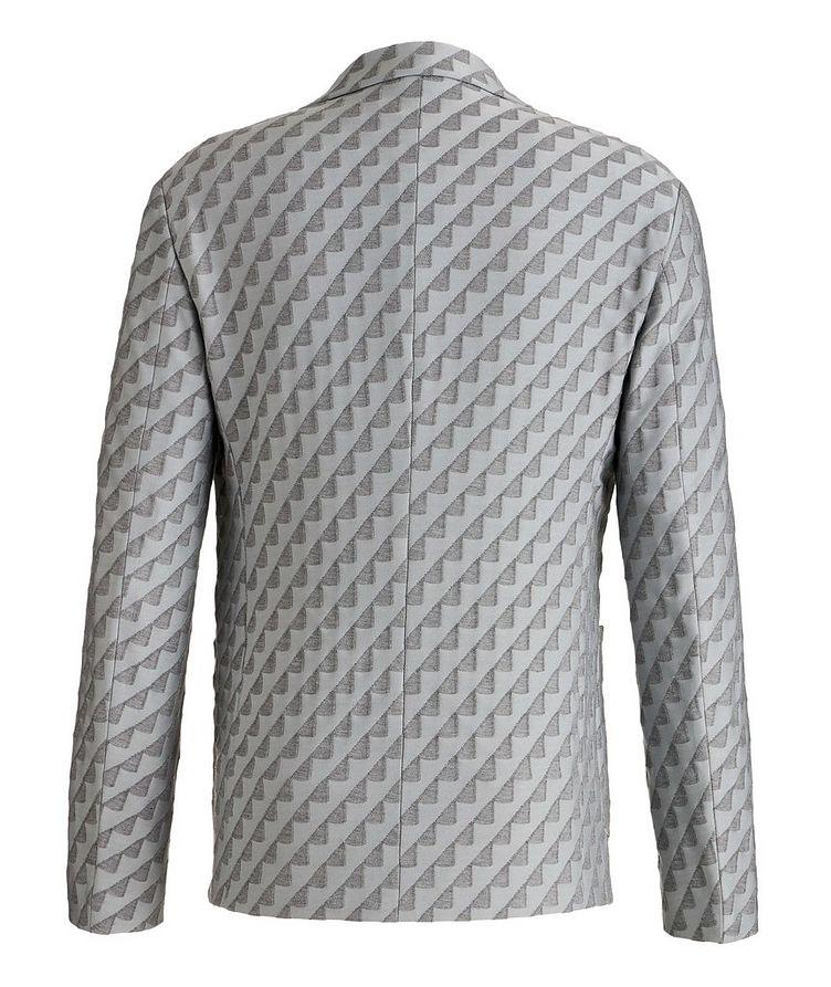 Unstructured Stretch Cotton-Blend Sports Jacket image 1