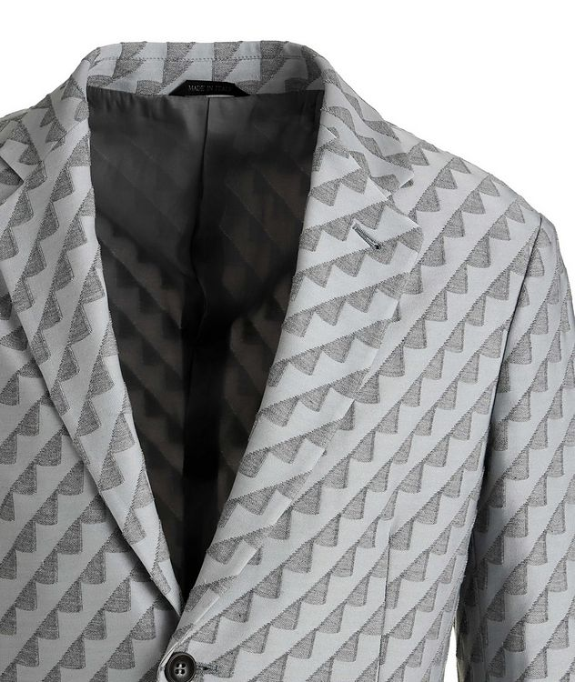 Unstructured Stretch Cotton-Blend Sports Jacket picture 3