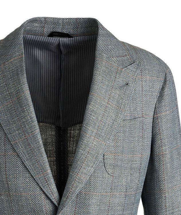Upton Wool, Linen, and Silk Sports Jacket picture 3