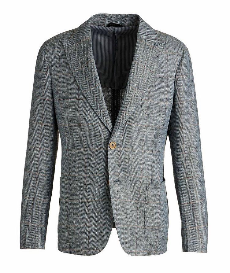 Upton Wool, Linen, and Silk Sports Jacket image 0