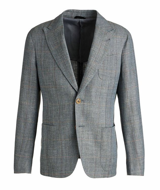 Upton Wool, Linen, and Silk Sports Jacket picture 1