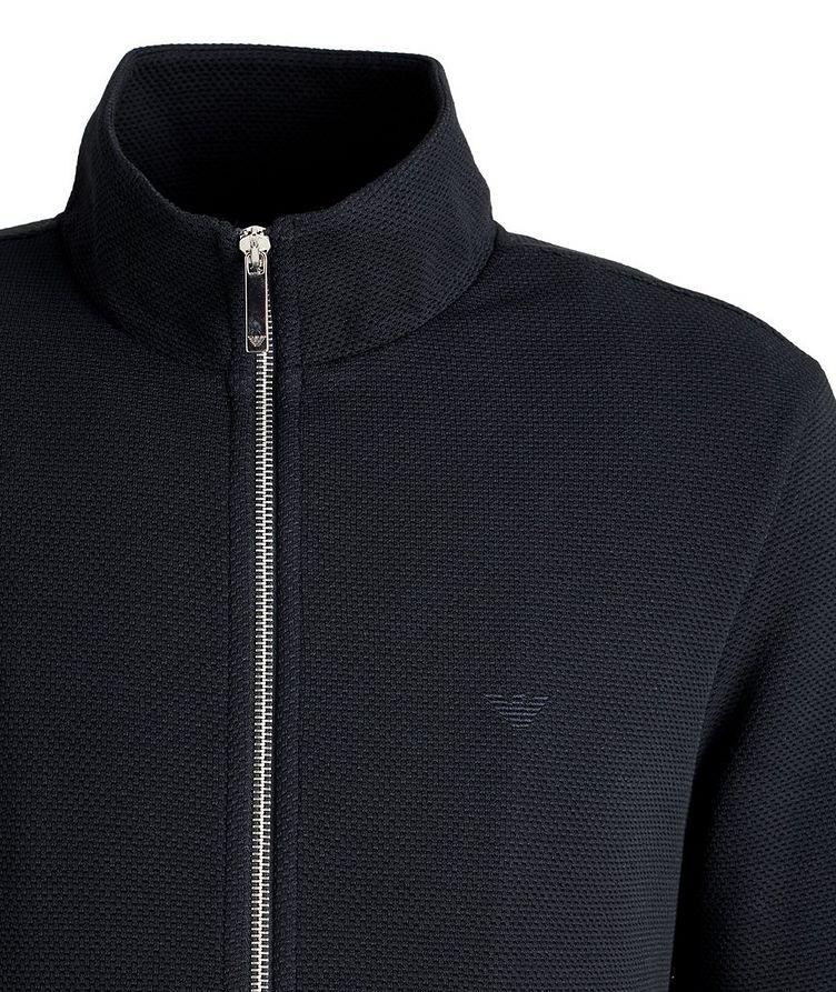 Blouson court en tricot extensible image 1