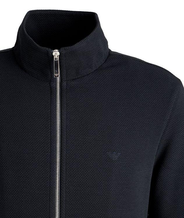 Blouson court en tricot extensible picture 2