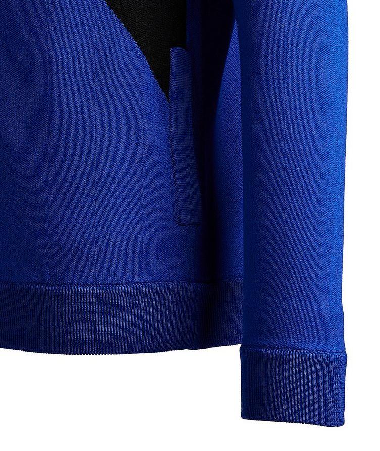 Zip-Up Wool Sweater image 2