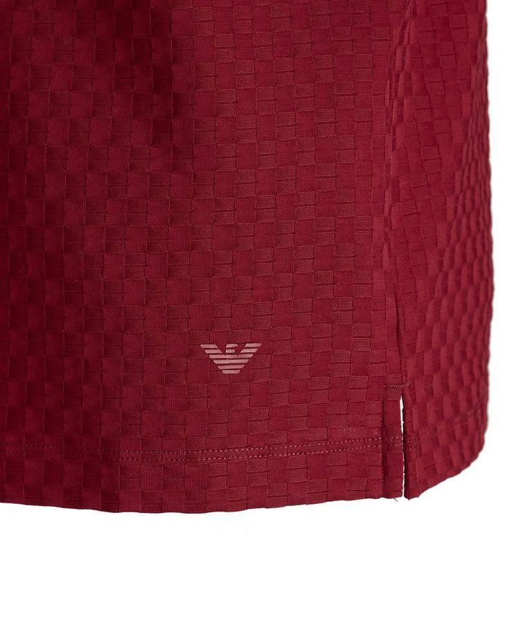 Jacquard Cotton Polo image 2