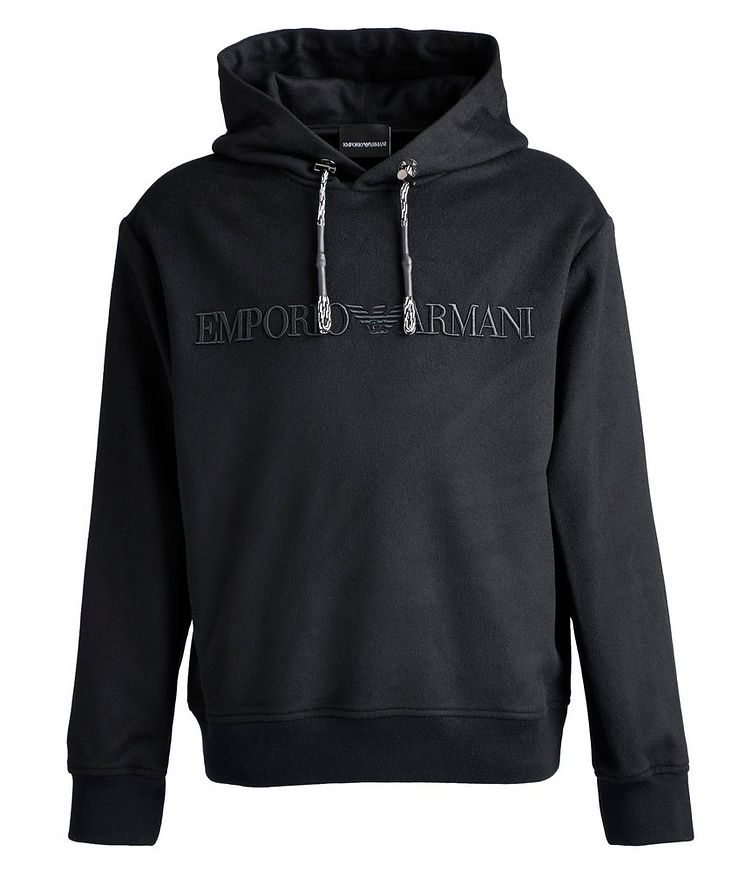 Wool, Cashmere, and Silk-Blend Hoodie image 0