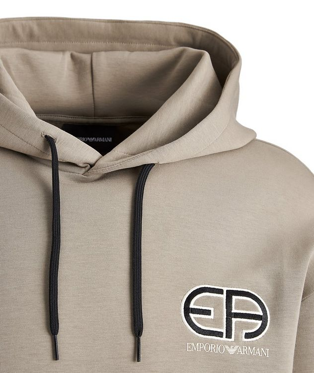 R-EA Logo Cotton-Blend Hoodie picture 2