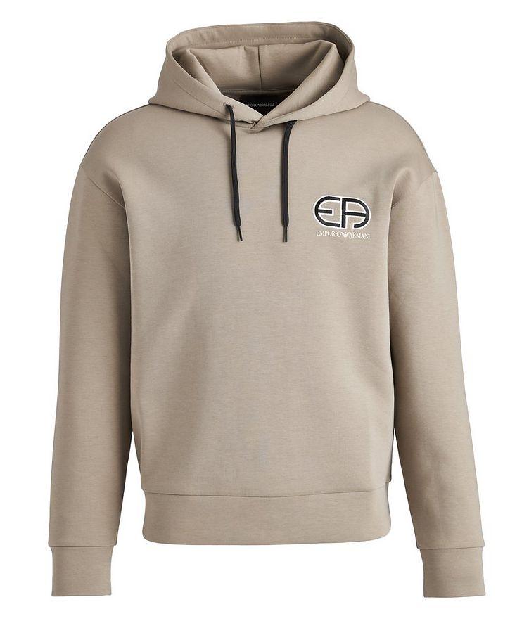 R-EA Logo Cotton-Blend Hoodie image 0